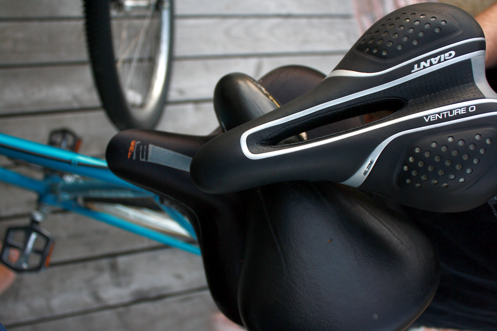 Choosing a Bike Saddle Is like Choosing a Life Partner: An Andrea Post, Part III