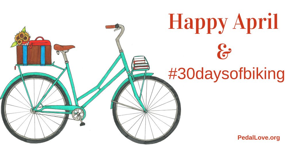 30 Days of Biking 2018: Rolled All April